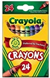 #7: Crayola Crayons 24 in a Box (Pack of 6) 144 Crayons in Total