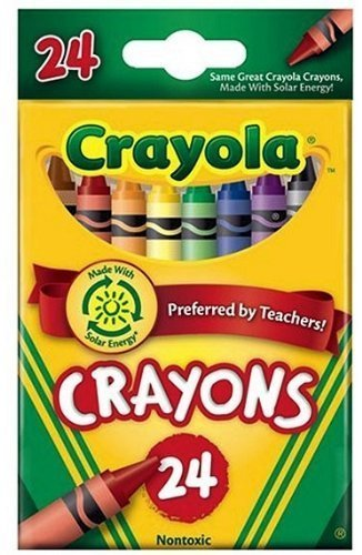 crayola crayons 24 in a box pack of 6 144 crayons in total - Crayola Crayons Pictures