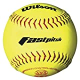 Wilson-A9231ASA-Series-Softball-12-Pack-11-Inch-Optic-Yellow