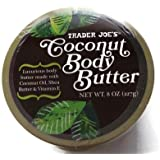 Trader Joe's Coconut Body Butter 8 Oz. (00501309)