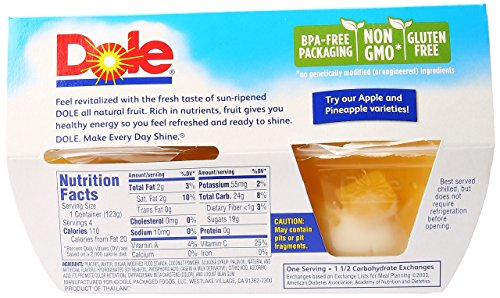 Dole Peaches And Creme Parfait, 4 oz by Dole (Image #3)
