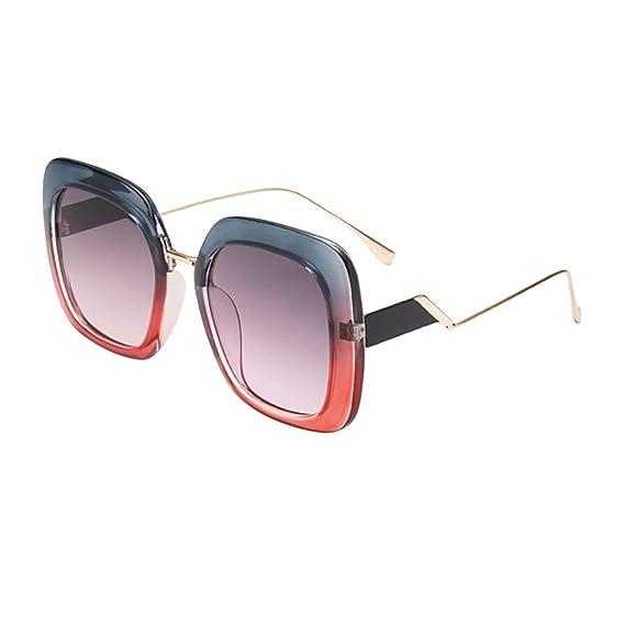 Gafas de Sol Polarizadas Hombre Mujer – Marca Retro/Vintage – Lentes Deportivas -Negras/Graduadas Lavanda Polarizado