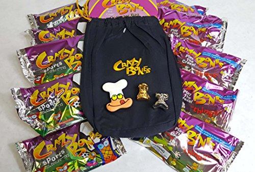 Original Crazy Bones 10 Pack Starter Kit