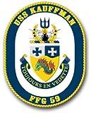 "US Navy Ship USS Kauffman FFG-59 Decal Sticker 3.8"""
