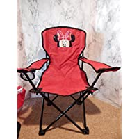Personalized Girl Mouse Folding Chair (CHILD SIZE)