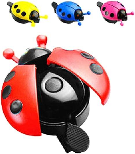 MRLIFY Bike Ride Horn Beetle Ladybug Ring Bicicleta Bell para ...