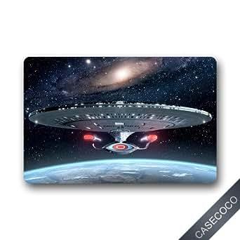 Amazon.com: Custom Star Trek Enterprise Doormat Door