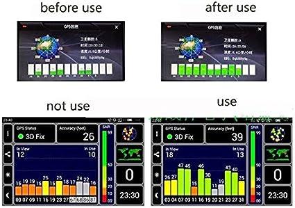 Easyget Gps Antenne Signal Repeater Verstärker Für Handy Navigator Auto Navigation Navigation