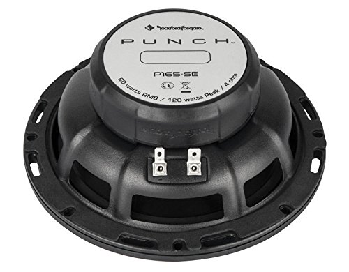P165-SE Rockford Fosgate 6.5-Inches 120W 2-Way Car Audio Component Speaker System by Rockford Fosgate