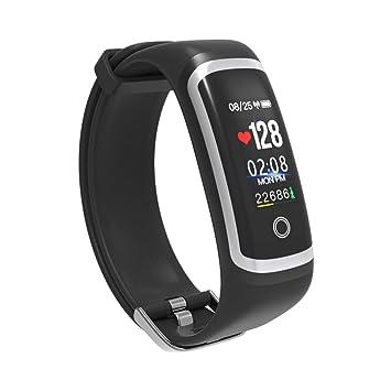 NOBIE Pulsera Actividad, Impermeable IP67 Pulsera Inteligente con Pulsómetro, Reloj Inteligente para Deporte,