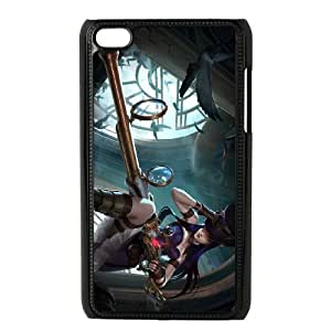 League of Legends Caitlyn iPod Touch 4 Case Black 8You327463