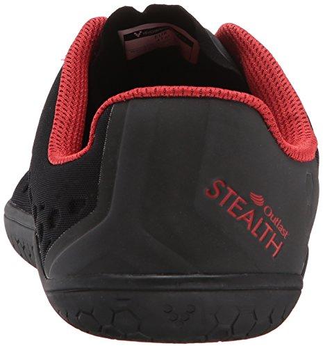 VivoBarefoot Stealth 2 Scarpe Da Corsa - SS17 Black / Red