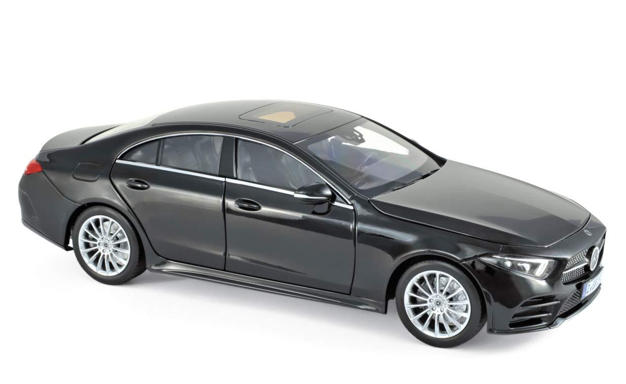 Promoción por tiempo limitado Outletdelocio Norev 183592. Coche Mercedes Benz Clase CLS 2018 Negro. Escala 1/18. Metalico