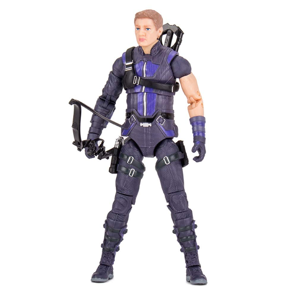 JIANPING Toy Model Movie Character Avengers Cartoon Ornaments Souvenir/Collectibles/Crafts Eagle Eye 18cm Model toys