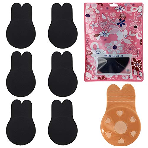 3 Pairs Women Instant Breast Lift Nipplecovers-Adhesive Bra, Breast Lift Tape Silicone Breast Pasties
