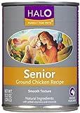 Halo Senior - Ground Chicken - 12x13.2 oz