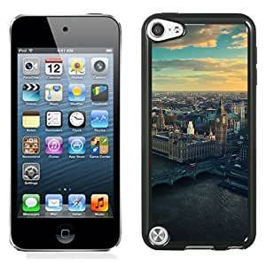 Unique Designed Cover Case For iPod 5 With Mm England Skyview City Big Ben Nature Phone Case