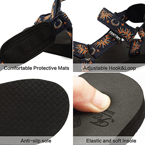 Navy CIOR Arch Women's Yoga Sandal Original Shoes Mat Support with Fantiny Insole nxPanqX7