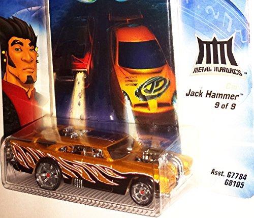 Mattel JACK HAMMER Die-Cast Car / Hot Wheels AcceleRacers...