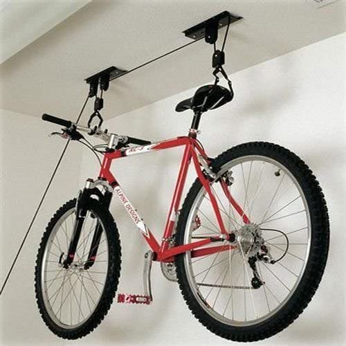Soporte de pared para bicicleta polea montacargas para bicicleta ...