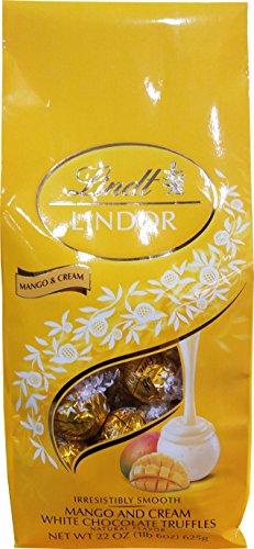 Lindt & Sprungli Lindor Mango & Cream Truffle, 22 Ounce