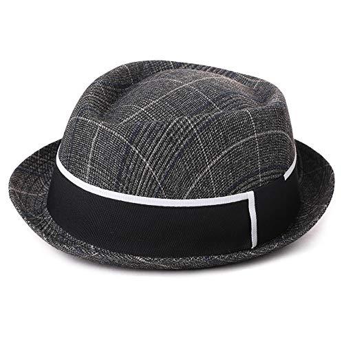 (Mens Homburg Gangster Hat Fedora 1920s Derby Bowler Hat Frank Sinatra Manhattan Mafia Godfather Women Winter Accessories)