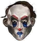 : Rubie's Costume Co Men's Batman The Dark Knight The Joker Henchman Happy Adult Mask, Multi, One Size