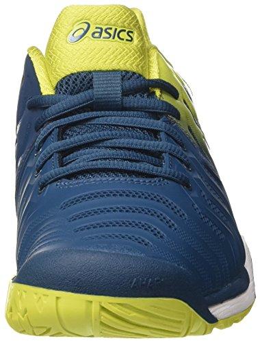 Asics Gel-Resolution 7, Scarpe da Tennis Uomo Blu (Ink Bluesulphur Springwhite 4589)