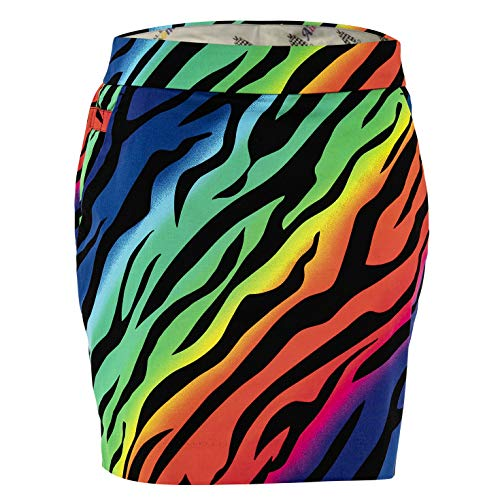 (Royal & Awesome Wild Ones Womens Golf Skort)