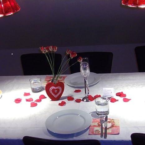 Tischdeko valentinstag