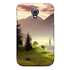Perfect Cute Landscape Case Cover Skin For Galaxy S4 Phone Case