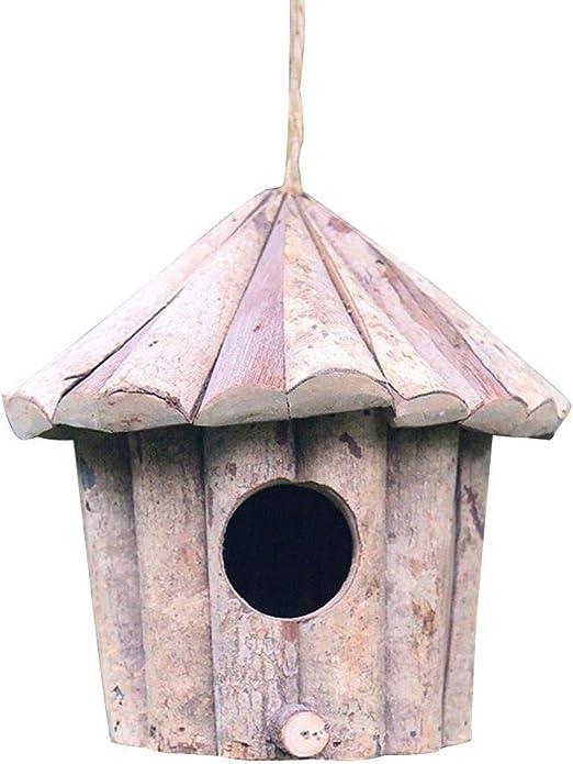 Casa del alimentador de la caja de nido de pájaros de madera, Caja de nidos for