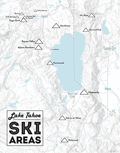 Amazon.com: Lake Tahoe Ski Resorts Map 11x14 Print (Gray ... on lake tahoe golf course map, lake tahoe mountain map, lake tahoe winter map, northstar resort tahoe map, lake tahoe casinos, lake tahoe snow, lake tahoe mapguide, hyatt regency lake tahoe resort map, lake tahoe points of interest map, squaw valley resort map, california ski areas map, lake tahoe skiing, lake tahoe national forest map, ski bc map, lake tahoe granlibakken resort, lake tahoe tourist map, lake tahoe sierra resort, lake tahoe airport map, christmas valley lake tahoe map, lake tahoe tee shirt,