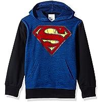 DC Comics Boys' Big Superman Fleece Pullover Hoodie