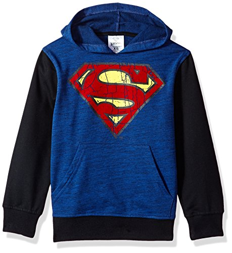 DC Comics Big Boys' Superman Fleece Pullover Hoodie,