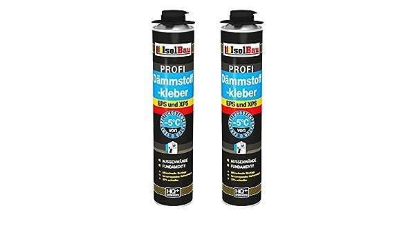 Pegamento 2 lata 750 ml Espuma adhesivas Perimeter WDVS pegamento para aislamiento: Amazon.es: Bricolaje y herramientas