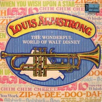 Louis Armstrong - The Wonderful World of Walt Disney LP