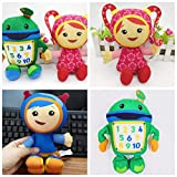 Team Umizoomi Plush Doll Toys for Kids Children --3pcs/Set