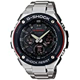 Casio G-Shock G-Steel Series Multi Band 6 Solar Mens Watch GST-W100D-1A4JF (Japan Import)