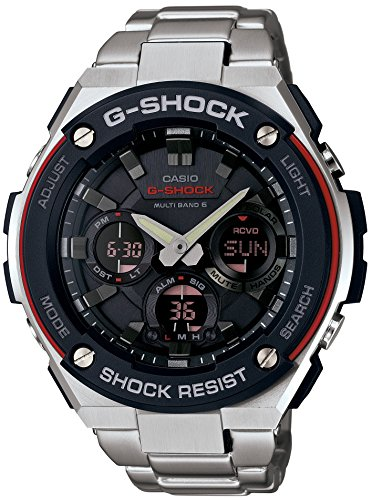 Casio G Shock GST W100D 1A4JF S Steel Multi