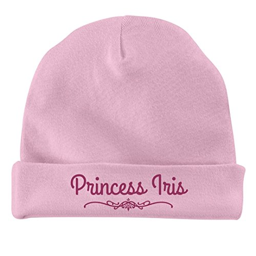 Princess Iris (FUNNYSHIRTS.ORG Baby Girl Princess Iris Gift: Infant Baby Hat)