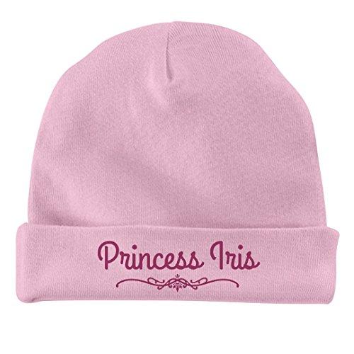 Iris Princess (FUNNYSHIRTS.ORG Baby Girl Princess Iris Gift: Infant Baby Hat)