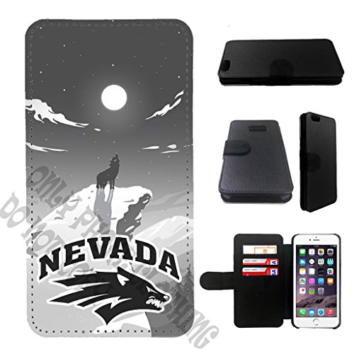Nevada Leather (10 kinds college team custom design nevada wolf pack iphone 7 wallet case, nevada wolf pack iphone 7 wallet case, nevada wolf pack iphone 7 leather case)