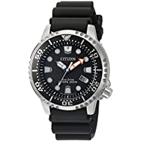 Citizen Eco-Drive Promaster Diver Black Dial Men's Watch with Date (BN0150-28E)