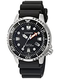 Citizen Men's BN0150-28E Promaster Diver Analog Display Japanese Quartz Black Watch