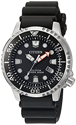 Citizen Men's BN0150-28E Promaster Diver Analog Japanese Quartz Black Watch