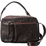 Ropin West Crossover Purse (Brown)