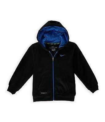 dcabc8384b18 Amazon.com  Nike Therma-FIT KO Hoodie - Boys 4 - 7 ATHLETIC FULL ZIP ...