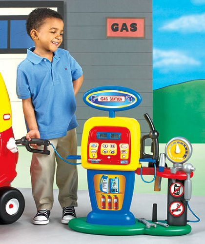 Kids Play Fill'er Up Gas Station, Kids Play Gas Pump, Kids Credit Card Machine