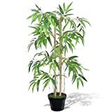 Chloe Rossetti Home Decor Artificial Bamboo Yard Decor Plant Twiggy with Pot Total Height 35''